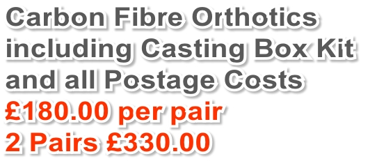 Carbon Fibre Orthotics 